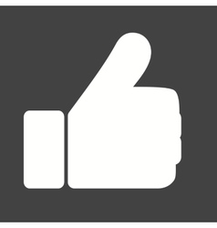 Like thumb vector