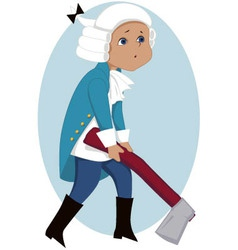 Little Washington vector image vector image