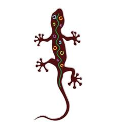 salamander color vector image vector image