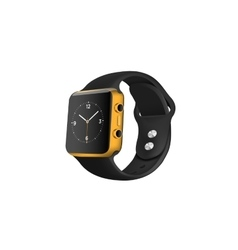 Business smart watch on the white background vector