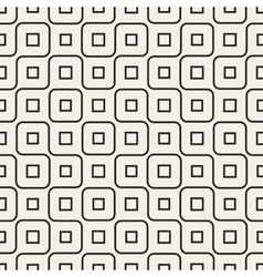 Seamless black and white irregular wavy vector