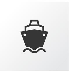 Cargo ship icon symbol premium quality isolated vector