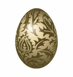 egg pattern vector image