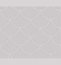 Grey decorative seamless pattern vector