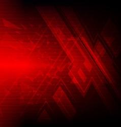 red cross symbol background design vector image