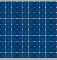 Solar cells seamless pattern for roof solar power vector