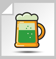 Beer icons 7 vector