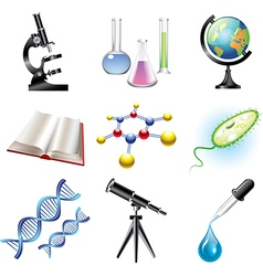 science set vector image