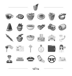 Barbecue rest trip and other web icon in vector