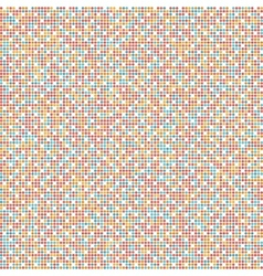 Geometric background of colored dots vector