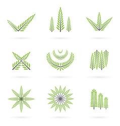 Green symbol design vector