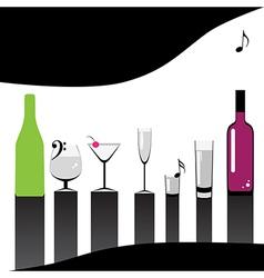 menu bar vector image vector image