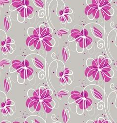 pattern grey vector image vector image