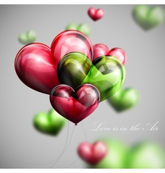 Valentines day or wedding background vector