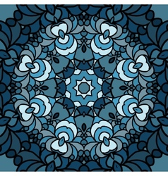 with colored circular patterns vector image