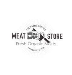 Butcher shop logo 05 a vector