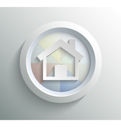Icon home vector image vector image