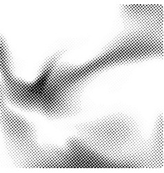 minimalistic halftone dot black and white layout vector image vector image