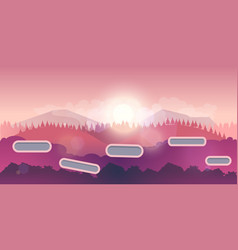 Seamless background for games mobile applications vector