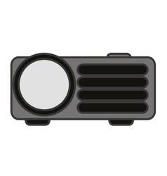 Video beam technology vector