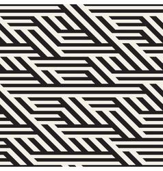 Seamless black and white horizontal vector