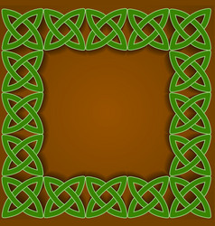Celtic border vector