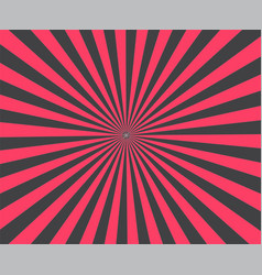 modern stripe rays red background brust vector image vector image