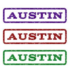 Austin watermark stamp vector