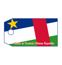 Central african republic flag vector