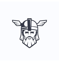 Odin sport team or league logo template vector