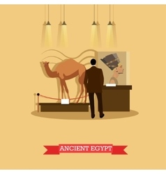 Ancient egypt exposition in vector