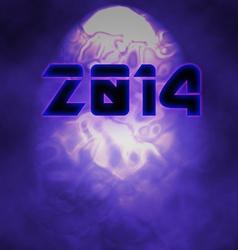 2014 New Years Logo vector image