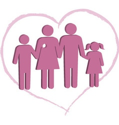 Breast cancer patient family support vector