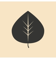 Flat in black and white mobile application tree vector