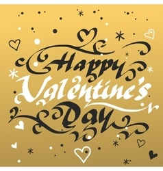 Happy valentines day and weeding cards design vector image