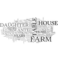 Antique farm machinery text word cloud concept vector