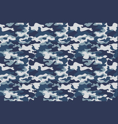 horizontal banner seamless camouflage pattern vector image vector image