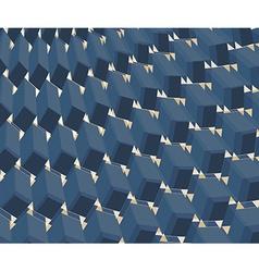 ornate background Design BLUE vector image vector image