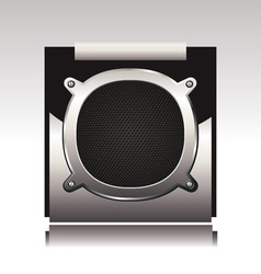 subwoofer vector image vector image