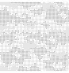 Urban camo pattern - gray pixels vector image vector image