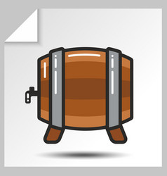 Beer icons 8 vector
