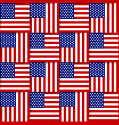 American seamless pattern vector