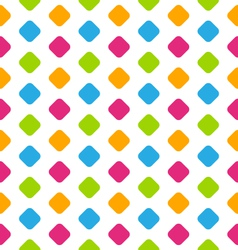 Seamless Geometric Pattern Colorful Kid Pattern vector image