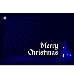 Religional merry christmas background vector