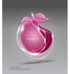 Modern pear vector