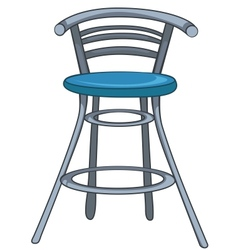 cartoon home furniture chair vector image