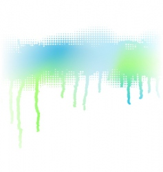 drip stripe vector image vector image