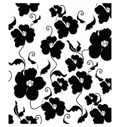Poppy flowers pattern vector
