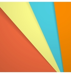 Abstract background in modern material design vector