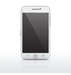 Realistic mobile phone smartphone template vector